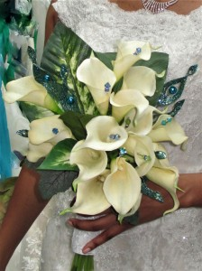 Trendy Jeweled Callas